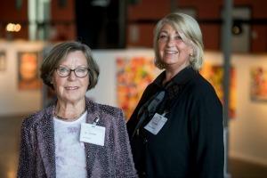 Sonja Zimmerman en Gre Bennen over het preventief huisbezoek in Dronten